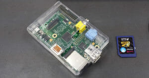 Raspberry Pi with Case and SD card