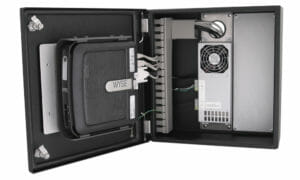 Industrial Thin Client Enclosure with 5/12 or 5/24 VDC