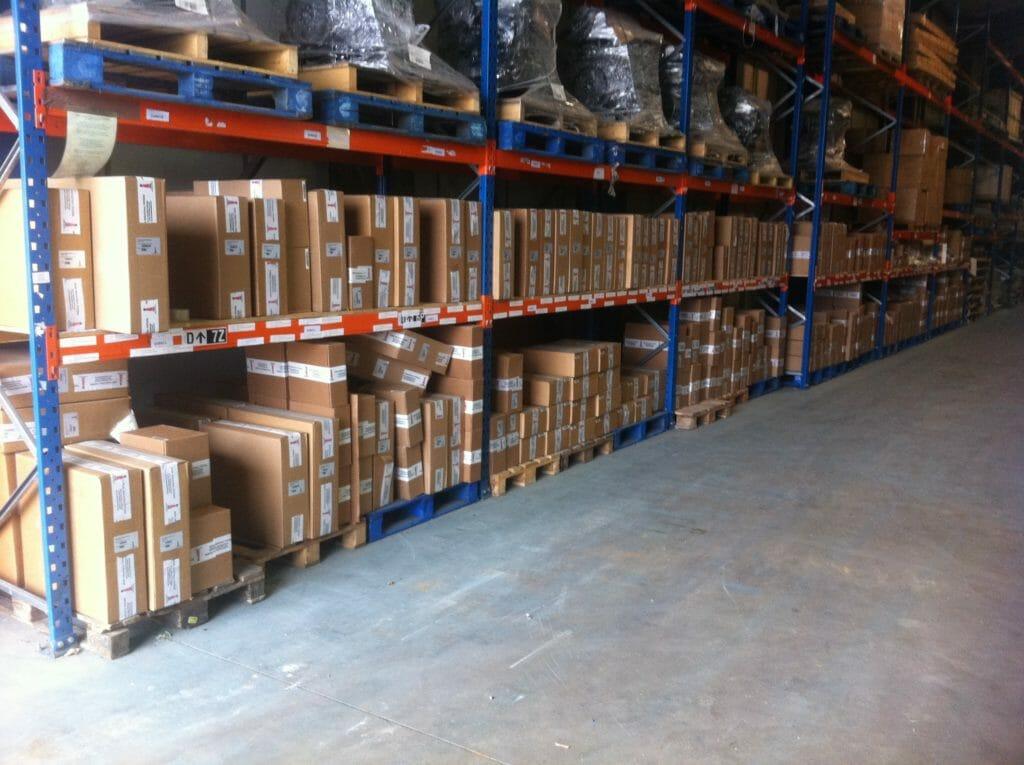 Inside View of Hope Industrial UK Logistics Center