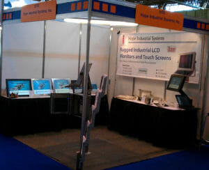 Hope Industrial's booth at MACH 2012