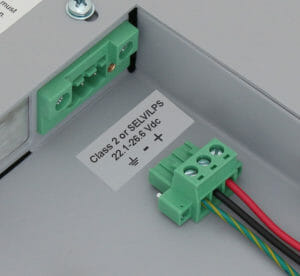 DC Power Input Terminal Block with Locking Connector