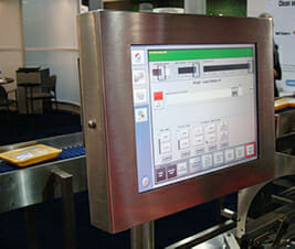 HIS Industrial Monitor on display at the International Poultry Expo 2011