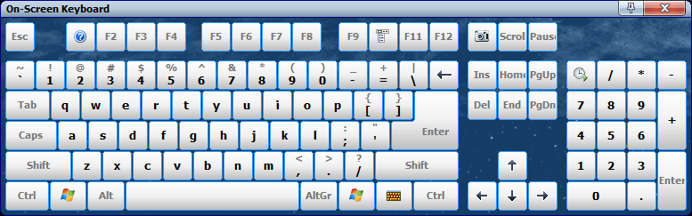 Comfort On-Screen Keyboard from Comfort Software