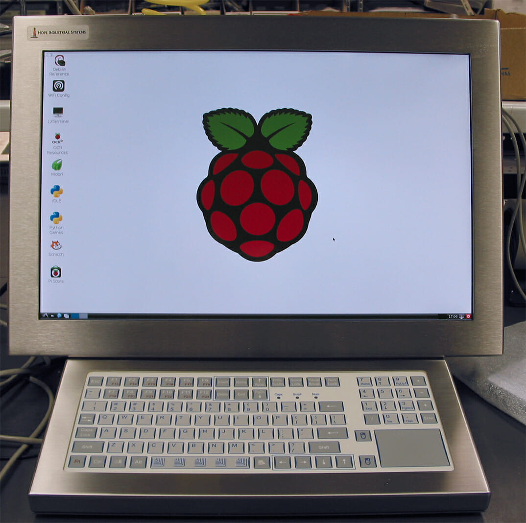Calibrating a Hope Industrial Touch Screen on a Raspberry Pi