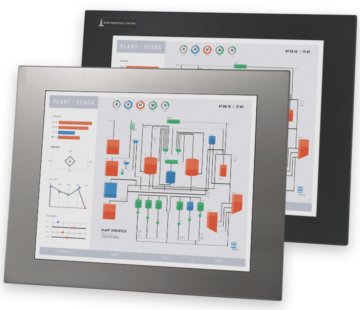 "17"" Panel Mount Industrial Monitors and IP65/IP66 Rugged Touch Screens"