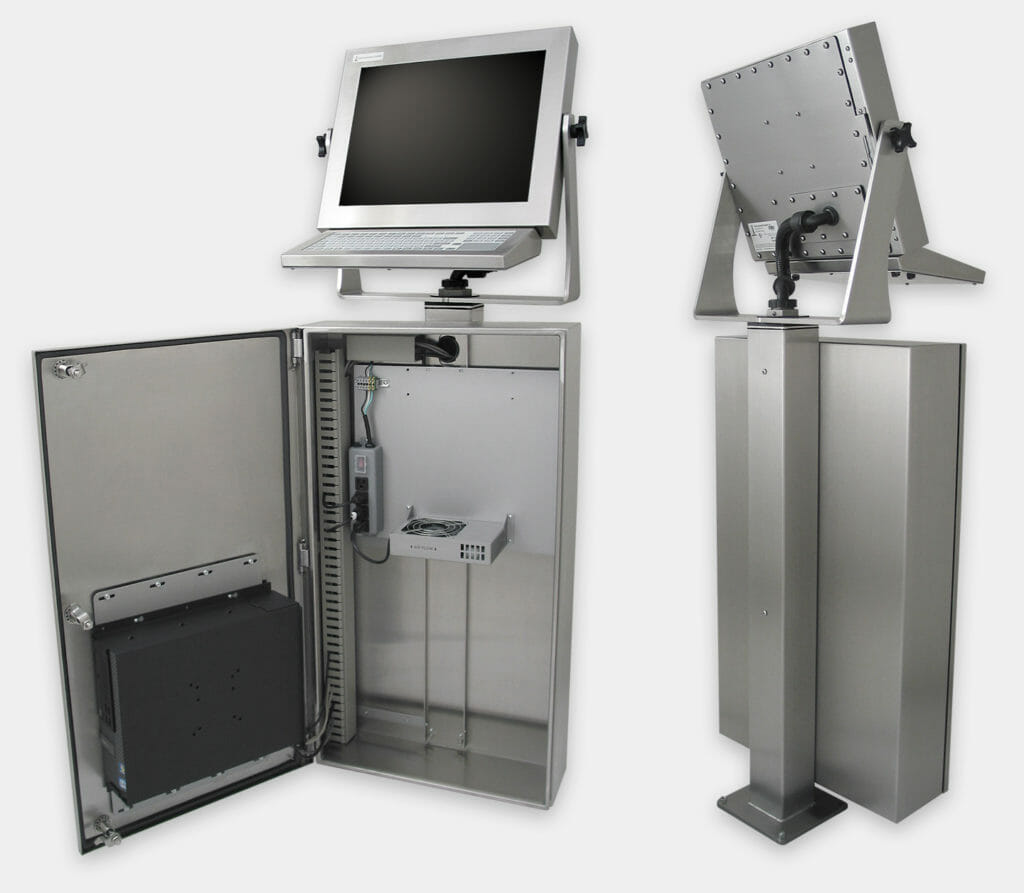 Enclosures For Commercial And Pcs