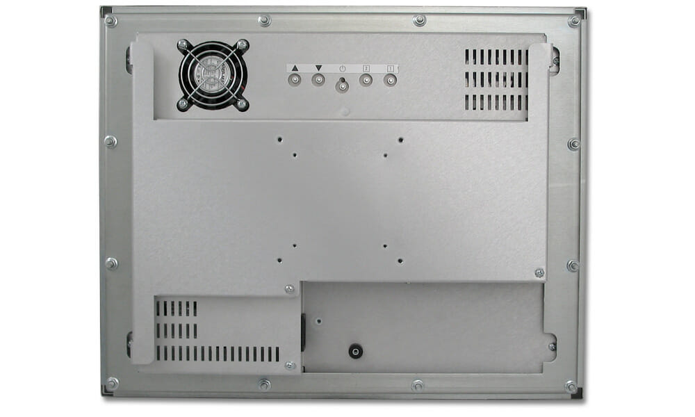 Mounting Bracket with VESA mounting pattern for Panel Mount Industrial Monitor