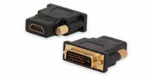 DVI-D to HDMI Adapter, DVI-D Male to HDMI Type A Female