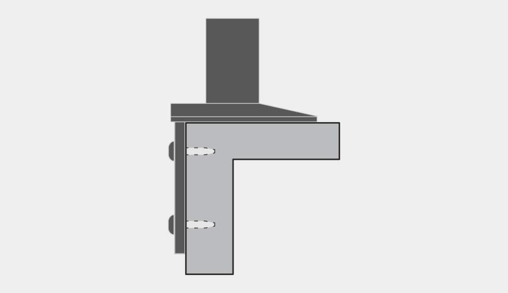 Montaje lateral