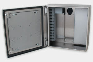 Industrial Enclosure for Thin Clients and Small PCs, standard enclosure with no integrated power or cooling