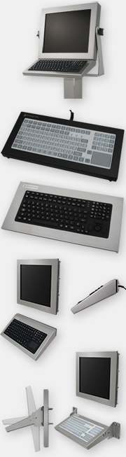 Industrial Keyboard Options with Full 5-Year Warranty from HIS